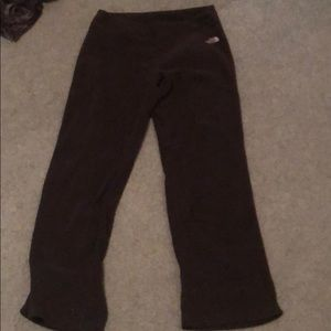 North face sweat pants. 100% polyester